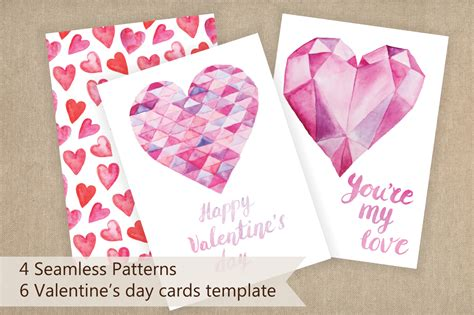 Template S Day Cards by S Day Cards Template By Larys Design Bundles
