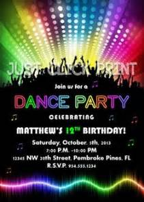 1000 ideas about neon party invitations on pinterest