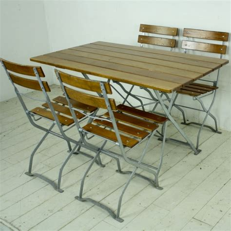 German Garden Table by Vintage German Garden Table And Chairs Lovely And Company