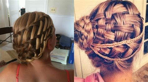 Basket Weave Hairstyle by Awesome Basket Weave Braids Hairstyles Hairdrome