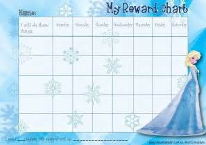 behavior sticker chart template 9 best images of frozen printable sticker charts frozen