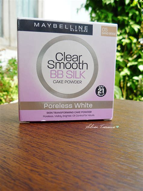 Bedak Maybelline Clear Smooth Bb Silk maybelline clear smooth bb silk poreless white 05 sand