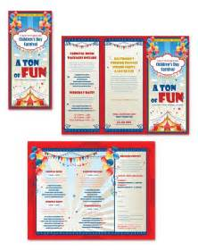 brochure templates for students carnival day tri fold brochure template brochure