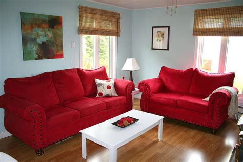 decorating with a red couch red sofa decorating home design ideas