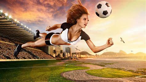 wallpaper girl football brazil world cup 2014 football baby sexy wallpaper hd