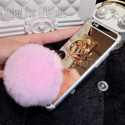 Rabit Fur Soft For Oppo R7s Bukan Mirror popular covers buy cheap covers lots from china covers suppliers on aliexpress