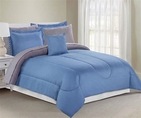 plain gray comforter just home solid gray blue comforter sets big lots