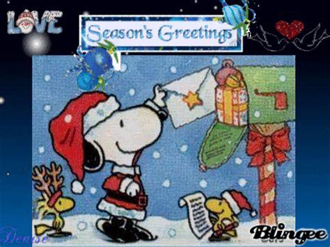 seasons   santa snoopy  friends picture  blingeecom