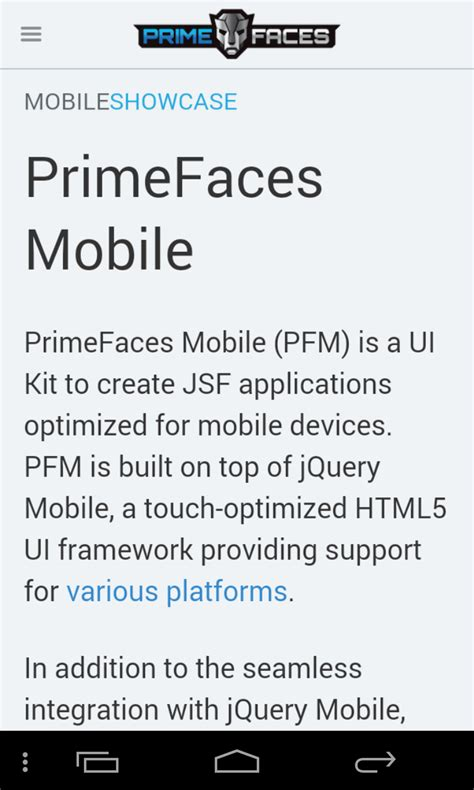 primefaces layout full height incorrect scale in webview
