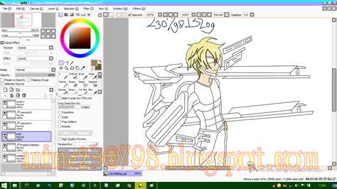 paint tool sai untuk pemula cara mewarnai anime di paint tool sai mudah untuk pemula