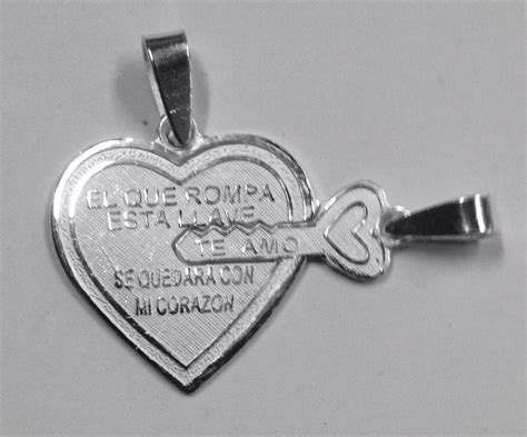 cadenas de plata corazones partidos exclusivos corazones partidos enamorados plata fina gps
