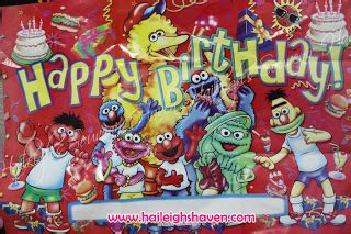 Sesame Street Giveaways - sesame street giveaways and party supplies haileigh s