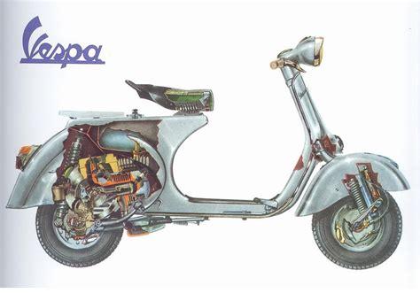 Mesin Vespa sistem kerja motor vespa info scooter