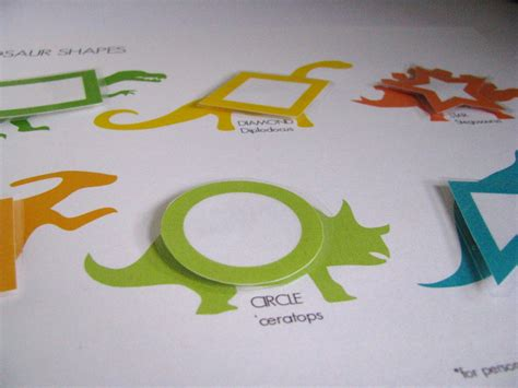 free printable dinosaur shapes yellow mums ff dinosaur shapes