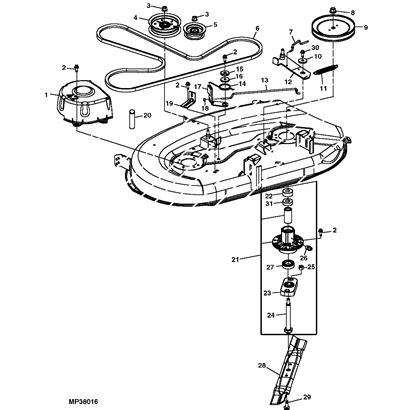 deere lawn tractor parts diagram deere mower parts diagram automotive parts diagram