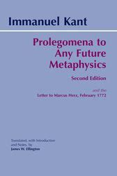 prolegomena to any future metaphysics books prolegomena to any future metaphysics ebook by immanuel
