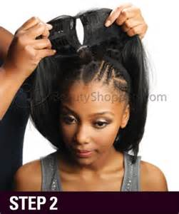 how much hair to leave out in a sew in u part wig the la stylist