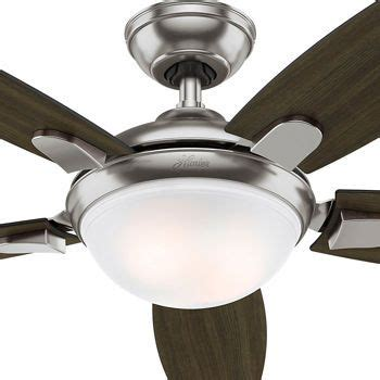contempo 54 ceiling fan led contempo 54 quot ceiling fan brushed nickel finish
