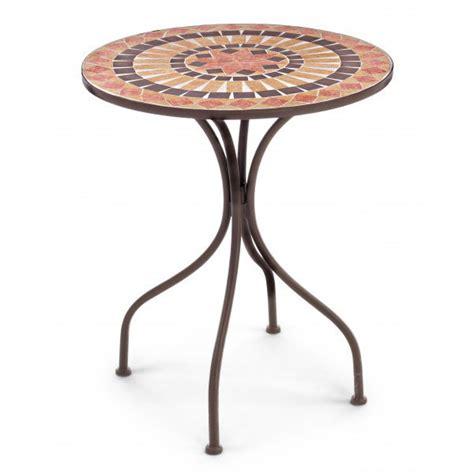 tavoli in ferro battuto e mosaico tavolo tondo ferro con mosaico mobili esterno