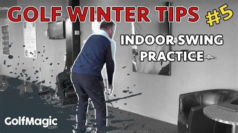 indoor golf swing practice golf winter tips indoor golf swing prac golfmagic