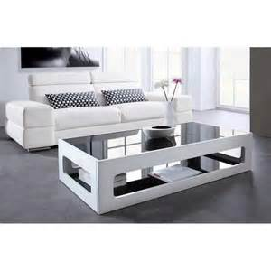 table basse rectangulaire 120x60cm laqu 233 e blanc