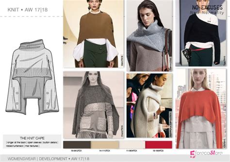 cover page designs for reports fw 2017 18 development knitwear