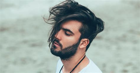 hairstyles to the side for guys classy mens long hairstyles and haircuts ideas