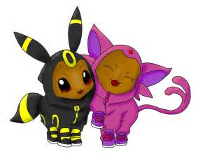 Espeon and umbreon umbreon and espeon by cooper