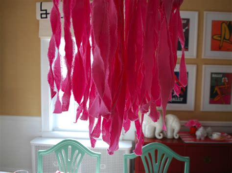 Diy Fabric Chandelier Effortless Style Blog Fabric Chandelier Diy