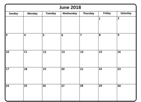 editable 2018 calendar template printable june 2018 calendar editable printable