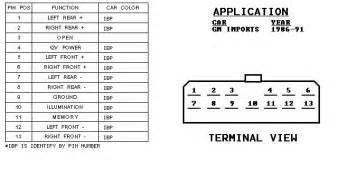 2003 gm radio wiring diagram 2003 general motor free wiring diagrams