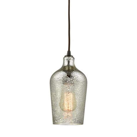 hammered glass pendant light titan lighting hammered glass 1 light rubbed bronze