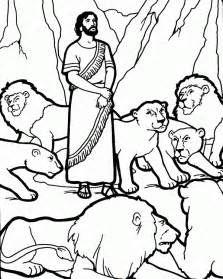 daniel in the s den coloring page free coloring pages of daniel and lions den
