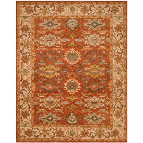 home depot wool area rugs safavieh tibetan beige 9 ft x 12 ft area rug tb830b 9 the home depot