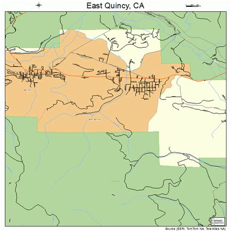 quincy california map east quincy california map 0621026