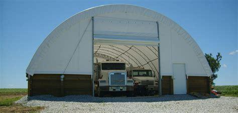 Hoop Sheds by Hoop Buildings Hoop Barns Ag Structures Accu Steel