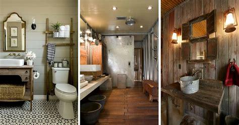 Beau Salle De Bain Rustique Chic #1: salle-de-bain-rustique.jpg