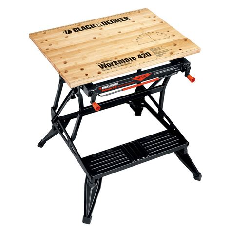Shop Black Decker 7 In W X 30 In H Adjustable Wood Work Bench At Lowes Com