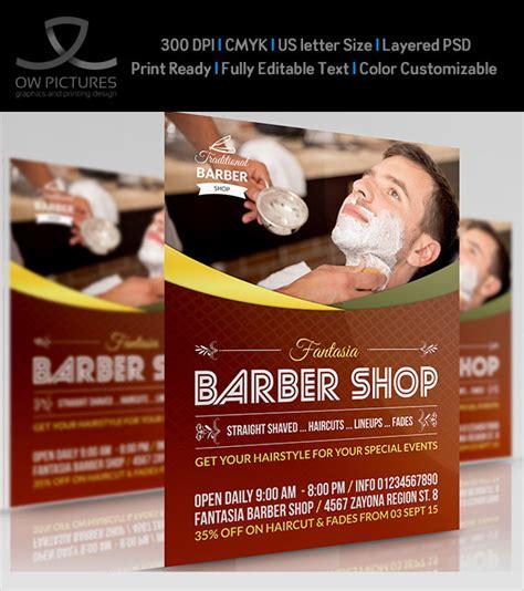 Barber Shop Flyer Design