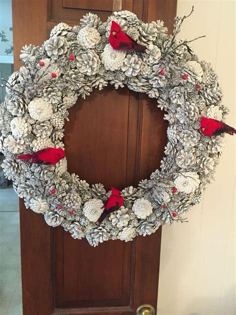 crafts wreaths 25 unique pine cone wreath ideas on pine
