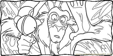 lion king rafiki coloring pages rafiki coloring page free the lion king coloring pages