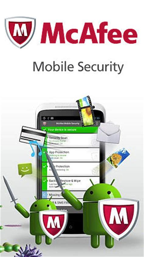 mobile mcafee security mcafee mobile security pour android t 233 l 233 charger