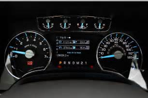 Ford Instrument Cluster 2012 Ford F 150 Lariat 4x4 Ecoboost Verdict Photo Gallery