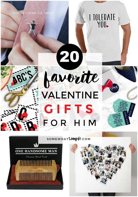 simple valentines gifts for gifts for him a gift guide