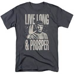 Tshirt Live And Prosper live and prosper t shirt issue