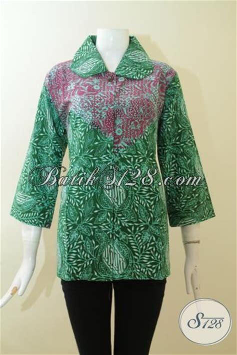 Baju Terusan Cewek Pakaian Wanita Dress Dua Warna Asimetris Clo367 baju batik dua motif untuk cewek batik formal warna hijau kombinasi merah jambu proses cap