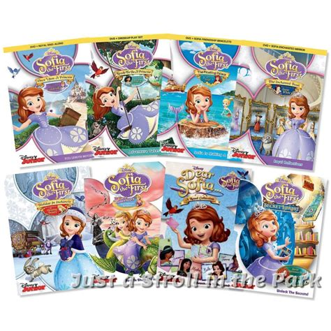 the first collection of sofia the first disney princess sophia series complete collection box dvd sets ebay