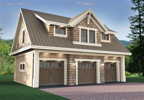 3 Car Garage Plans With Loft by Plan 14631rk 3 Car Garage Apartment With Class Garage