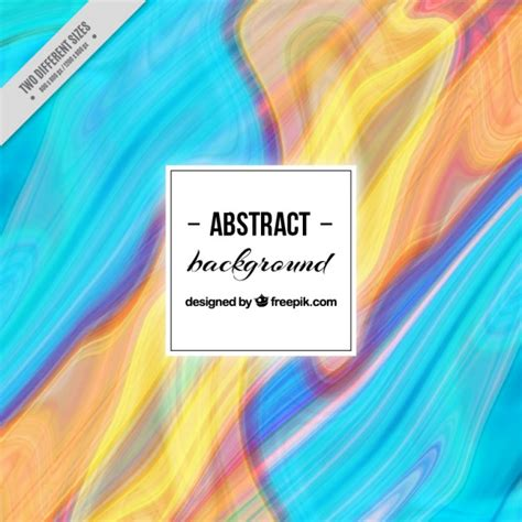 Premium Abstrac blue and yellow abstract background vector premium