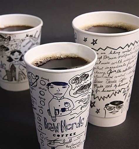 design cups 30 delicious coffee cup design exles to perk you up